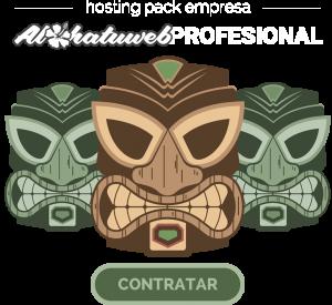 hosting pack empresa alohatuweb